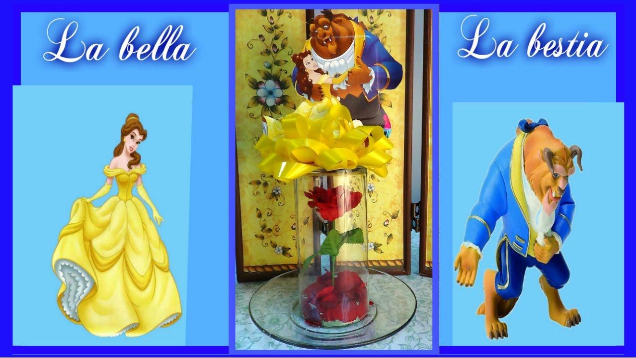Como Decorar Cumpleaños Con La Bella Y La Bestia