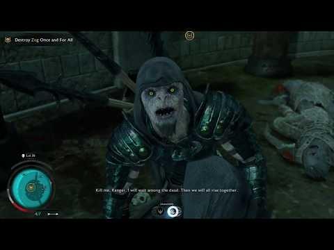 Middle-Earth Shadow of War: Zog's Final Fight + Undead Bruz!  