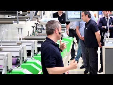 Full live demonstration of Revo technology set on GIDUE printing machine