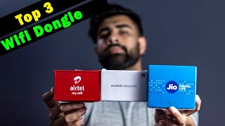 Best Wifi Dongle In India 2021 || Portable Hotspot || Wifi Data Device
