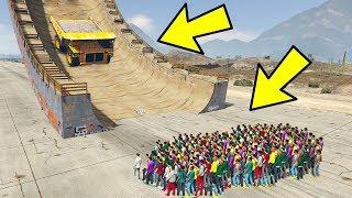 Werden 1000+ Menschen Den Kipplaster Stoppen? ( GTA 5 )