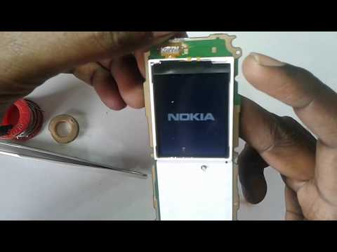 Nokia 130 rm 1035 white lcd solution
