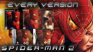 Every Version Of: Spider-Man 2 (2004) Movie Game