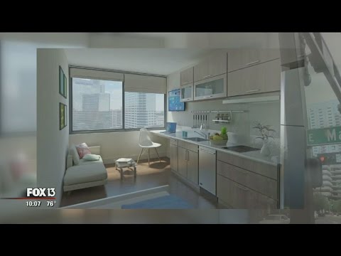 Mini apartments could come to downtown Tampa