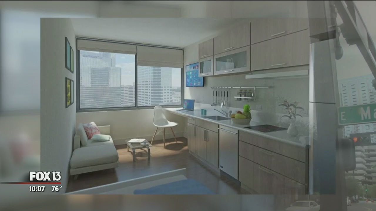 Mini Apartments Could Come To Downtown Tampa Youtube