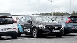 ► Volvo Automatic Driving for Parking
