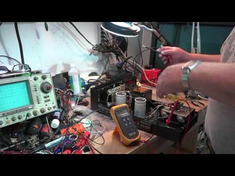Hafler DH 200 DC Voltage on Speaker Terminals