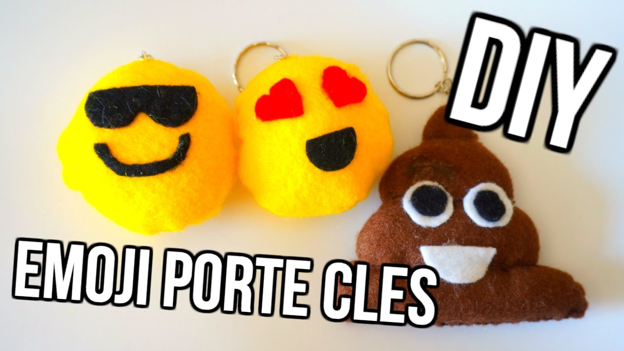 Diy 🌙 Porte Cl 233 S En Forme D Emoji Youtube