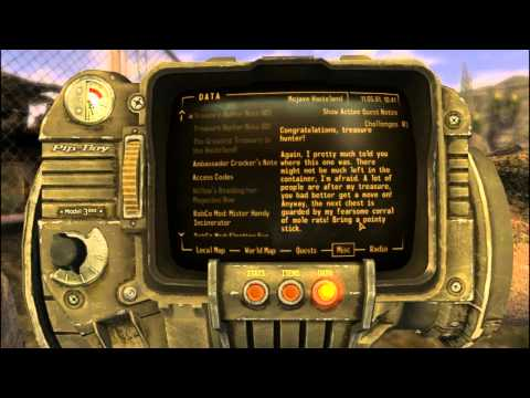 Fallout New Vegas Mods: Treasure for a Traveler - Part 1
