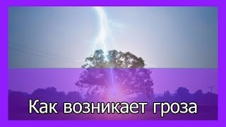 Как возникает гроза и молния