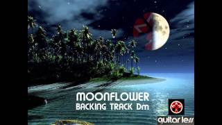 MOONFLOWER BACKING TRACK Dm GUITAR LESS
