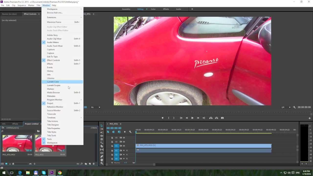 How to add text in adobe premiere pro cc 2015 youtube how to add text in adobe premiere pro cc 2015 ccuart Choice Image
