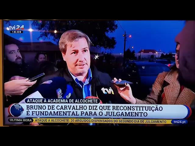 [Alcochete] Bruno de Caravalho - Os jogadores podiam ter sido colocados em segurança