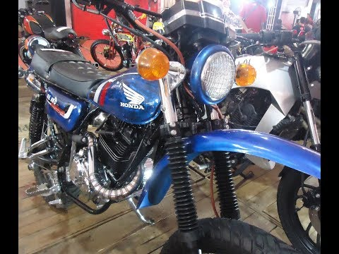 Modifikasi Motor Megapro Custom Trail Vintage