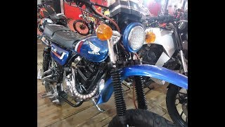 Modifikasi Motor Megapro Custom Trail Vintage