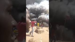 Fuel Tanker Explosion in Onitsha, Anambra State - Machinep.com