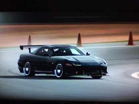 Forza Motorsport 3 3000gt Drift On Silverstone Youtube