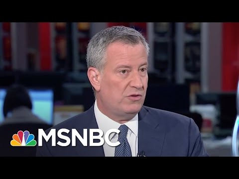 De Blasio On Crime, Hillary Clinton And Ben Carson (Full Interview) | MSNBC
