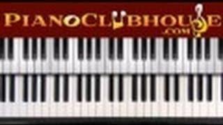 """♫ How to play """"YES"""" (Shekinah Glory) gospel piano tutorial lesson ♫"""
