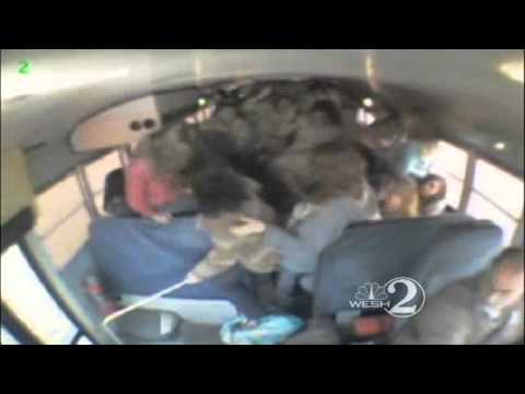 School Bus Beating Surveillance Video Released