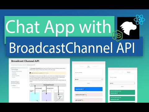 BroadcastChannel API Tutorial - Create A Chat App