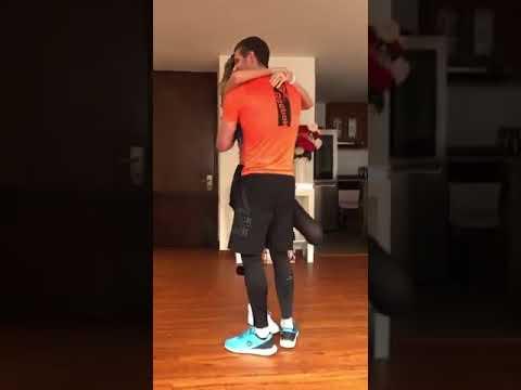 DANIELA ÁLVAREZ baila luego de Perder la pierna