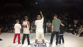 KIllaSebi/Frost vs. Kent and Teacher Hip Hop Connection 2018