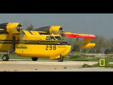 CL215 crash landing