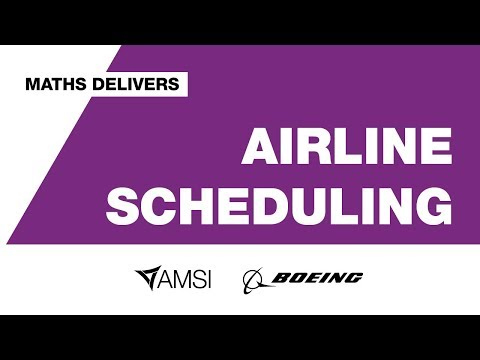 Airline Scheduling – Maths Delivers
