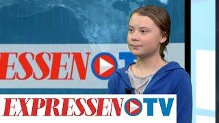 """15-åriga Greta: """"Eftersom ingen säger något får väl jag göra det"""""""