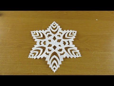Смотреть как сделать снежинки своими руками видео фото 261