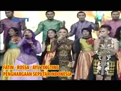 Fatin Rossa dan Ayu Tingting tampil nyanyi bersama di Penghargaan Seputar Indonesia 9 Juni 2015