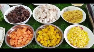របៀបធ្វើបង្អែមចាប់ឆាយមានជាតិឆ្ងាញ់ ,How to make Chab Chhay Dessert, Khmer Food TV