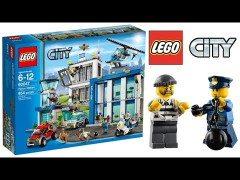 Lego City Police Station 60047 Lego Speed Build Youtube