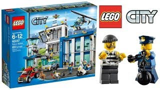 Lego City Police Station 60047 - Lego Speed Build