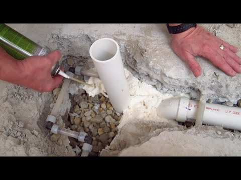 Spray Foam Insulation Under Concrete Slab  YouTube
