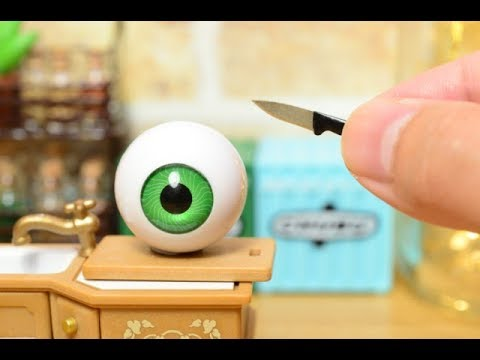Stopmotion Cooking-My Halloween foods-Miniature/ASMR