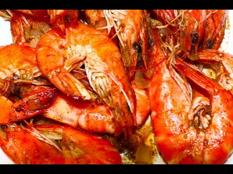How To Cook Buttered Shrimp Recipe - English