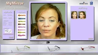 Essayage virtuel de lunettes - Réalité augmentée Augmented Reality virtual trying glasses