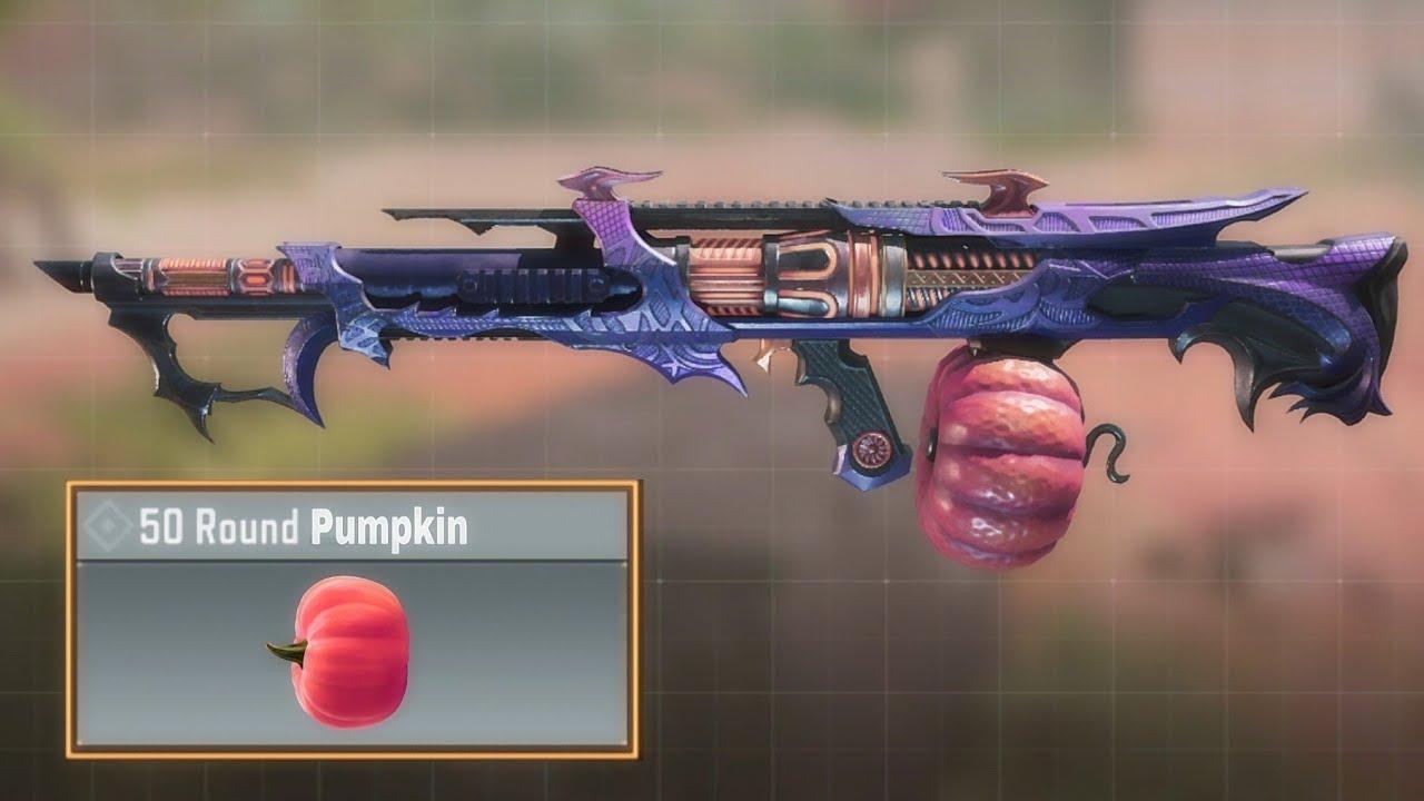 This Gun shoots Pumpkins