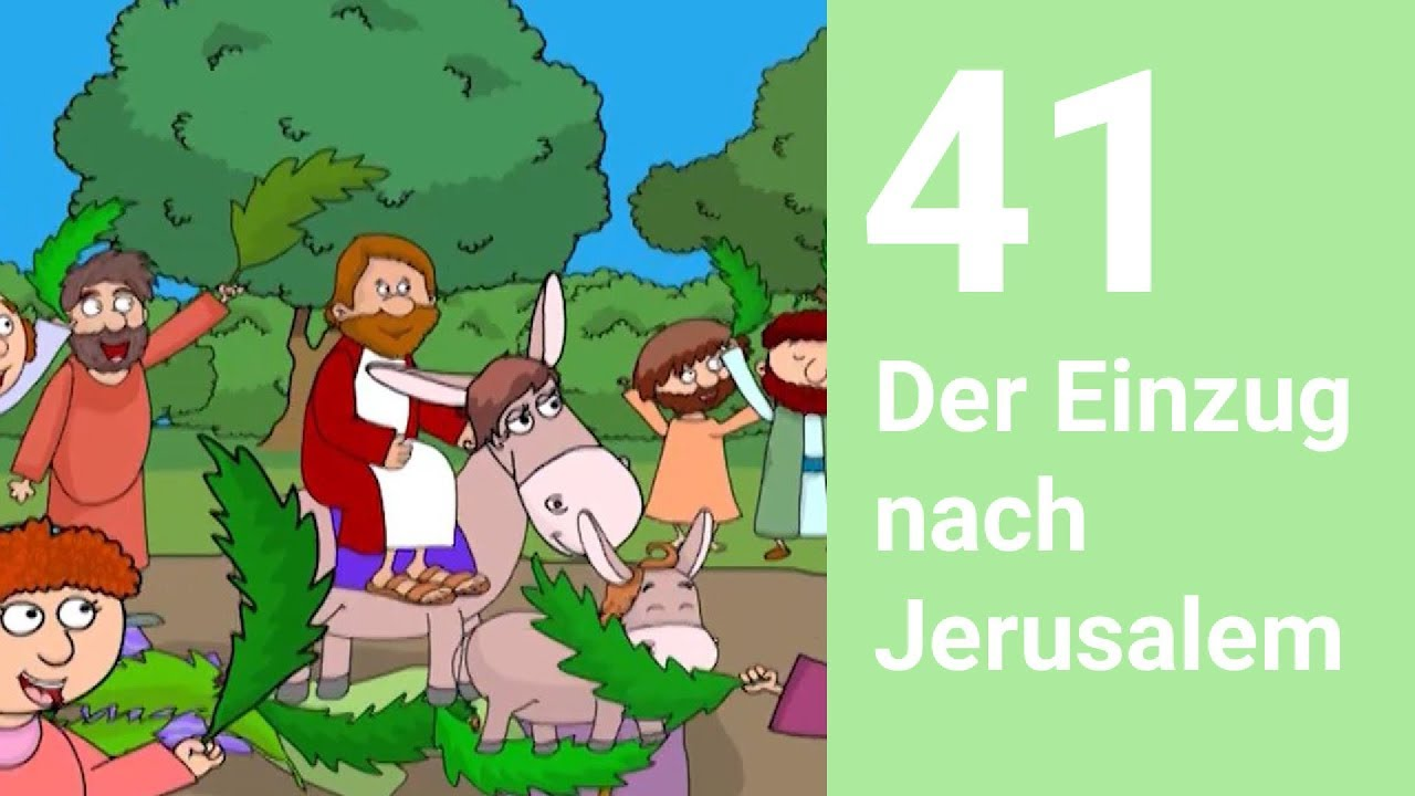 Jesu einzug in jerusalem kinder