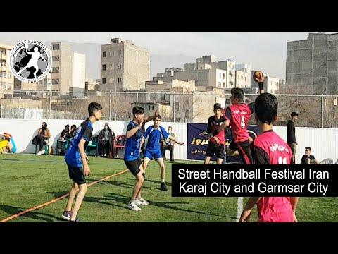 Street Handball Festival Iran from Karaj city and Garmsar city