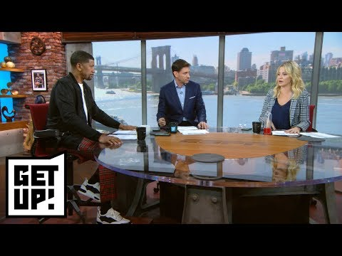 Why did Lakers speak with Lonzo Ball and Kyle Kuzma about social media diss tracks? | Get Up! | ESPN