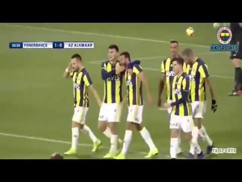 Fenerbahçe 3-2 Az Alkmaar  Hazırlık Maçı   Maç Özeti   11 01 2019