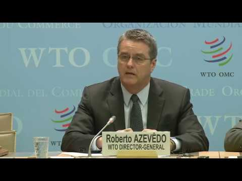 WTO press conference: Second term for DG Azevêdo