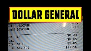 The Order To Use Coupons at Dollar General   Beginners Guide To Dollar