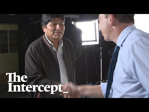 Watch: Glenn Greenwald's Exclusive Interview With Evo Morales In Mexico City