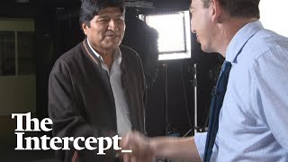 Glenn Greenwald's Exclusive Interview With Evo Morales in Mexico City On November 10, 2019, From YouTubeVideos