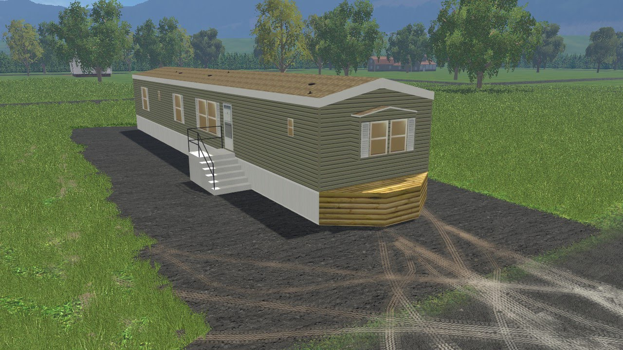 Farming simulator 15 lawn care construction ep 5 mobile for Adding onto a manufactured home