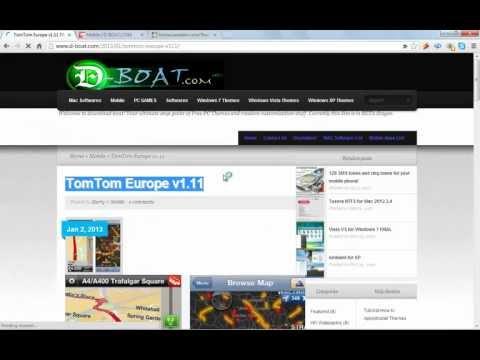 TomTom Europe V1.11 For Mobile Download Full Version!